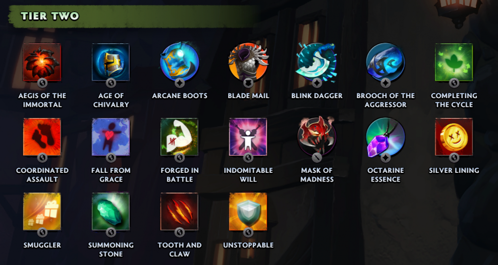 item tier two