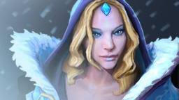 Crystal maiden : put on the mid to provider the buff mana regeneration for all the teams
