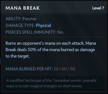 Mana break