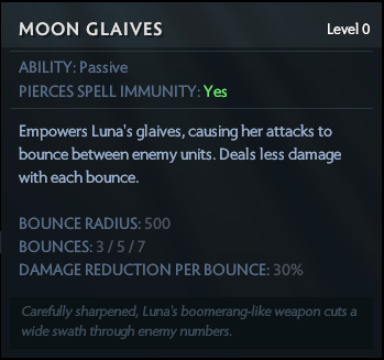 Moon glaives