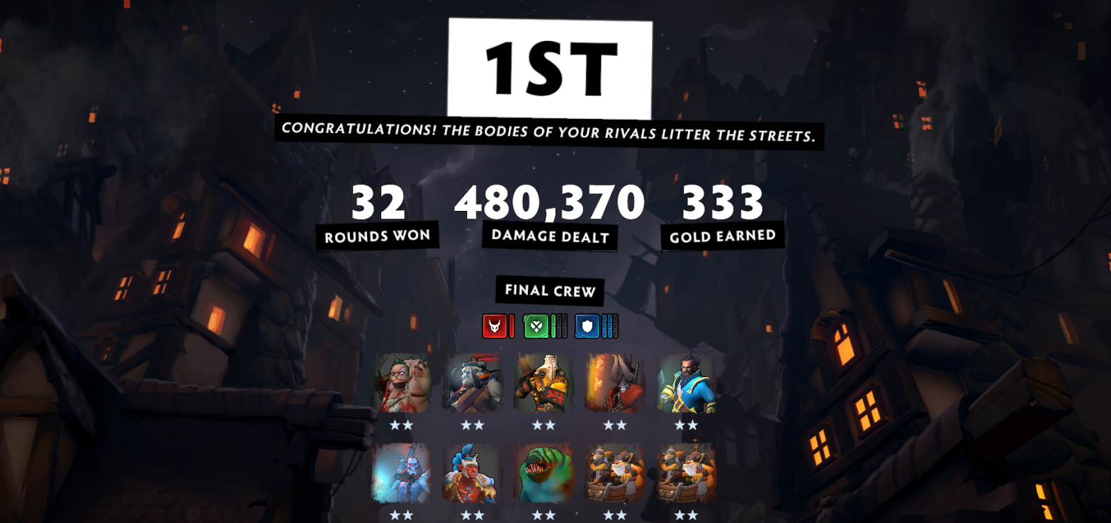 Dota Underlords #3 6 Warrior 2 Undead